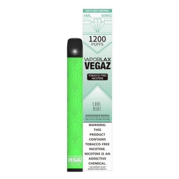Vaporlax Vegaz Disposable Vape - Cool Mints