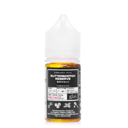 Glas BSX Salt - 30ml Bottle - Butterscotch Reserve