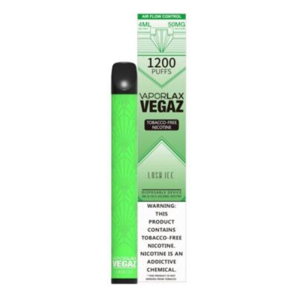 Vaporlax Vegaz Disposable Vape - Lush Ice