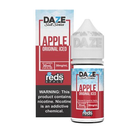 Reds Apple Salt Synthetic - Original Iced - 30ml Box Bottle - MadVapes