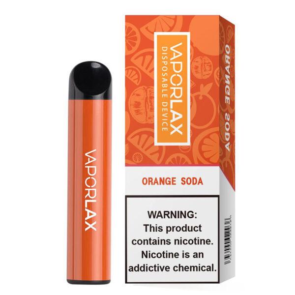 Vaporlax Max Disposable - Orange Soda