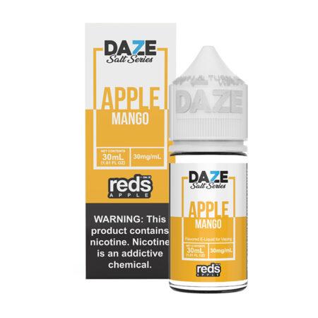 Reds Apple Synthetic Salt - Mango - 30ml Box Bottle | Mad Vapes