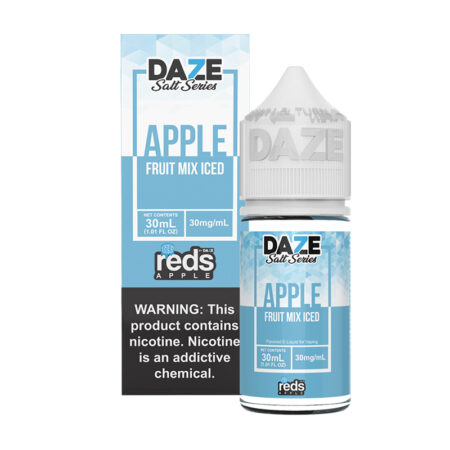 reds apple salt synthetic - fruit mix Iced - Mad Vapes