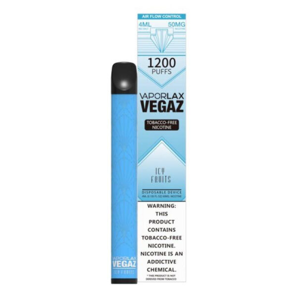 Vaporlax Vegaz Disposable Vape - Icy Fruits