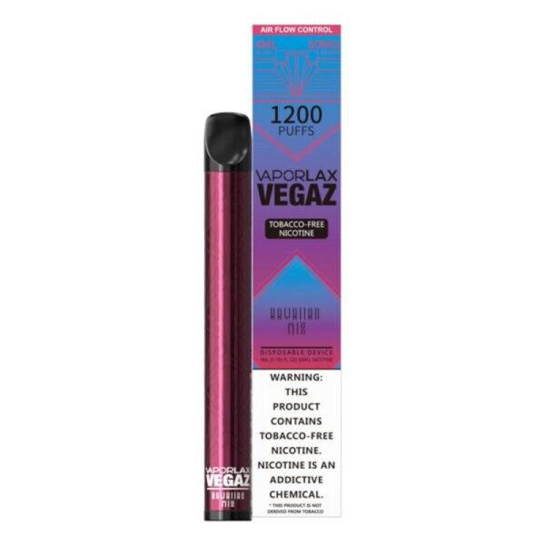 Vaporlax Vegaz Disposable Vape - Hawaiian Mix