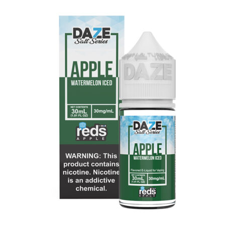 Reds Apple Synthetic Salt - Watermelon Iced - 30ml Box Bottle | Mad Vapes