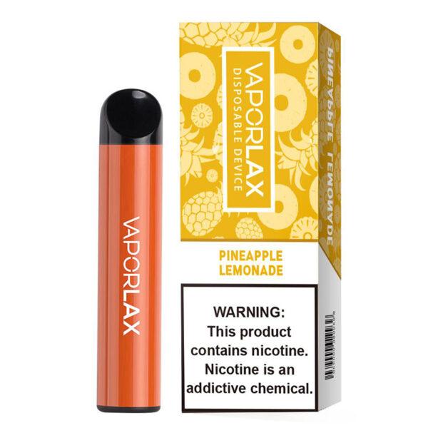 Vaporlax Max Disposable - Pineapple Lemonade