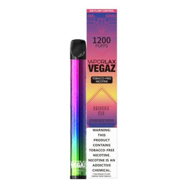 Vaporlax Vegaz Disposable Vape - Rainbow Mix