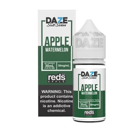 Reds Apple Synthetic Salt - Watermelon - 30ml Box Bottle | Mad Vapes