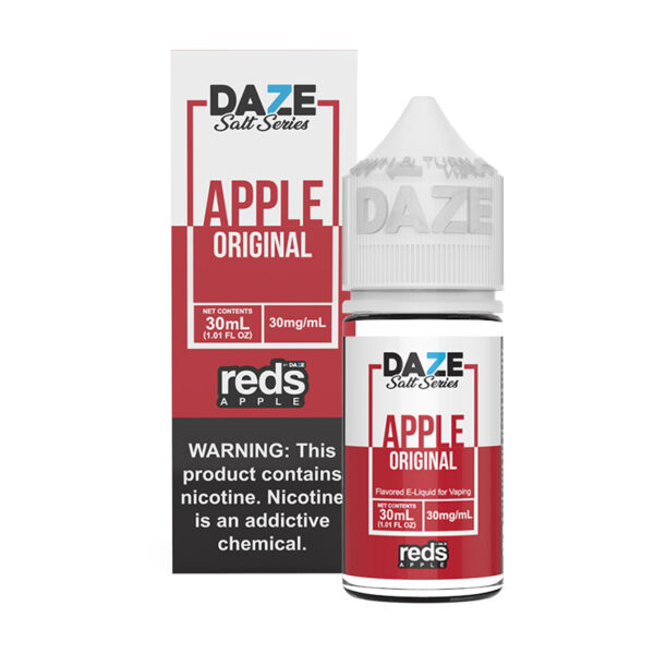 Reds Apple Salt Synthetic - 30ml Box Bottle - MadVapes