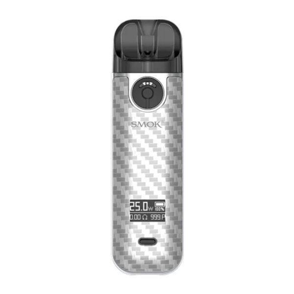 smok novo 4 vape pod kit - White Carbon Fiber