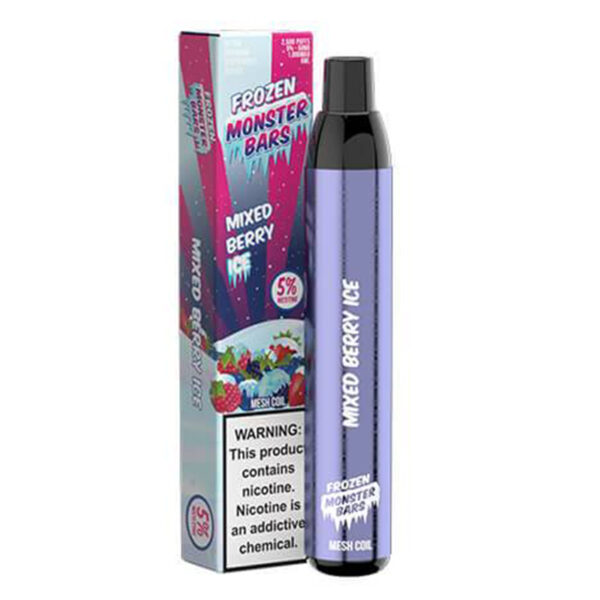 Monster Bars - Mixed Berry Ice   Mad Vapes