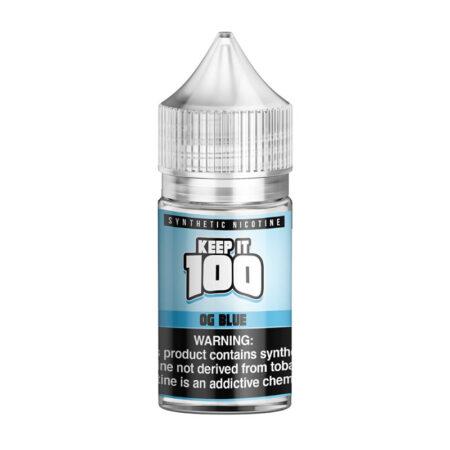 Keep it 100 Synthetic Salt - 30ml Bottle - OG Blue