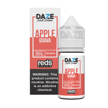 Reds Apple Synthetic Salt - Guava - 30ml Box Bottle | Mad Vapes