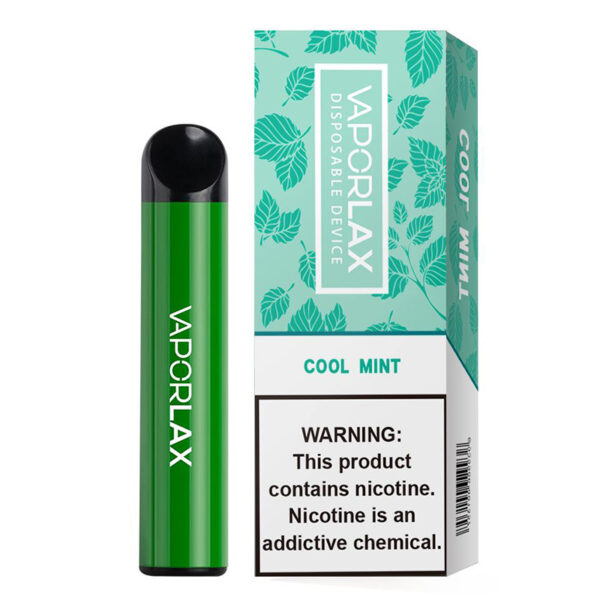 Vaporlax Max Disposable - Cool Mint