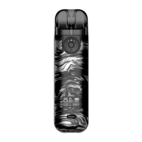 smok novo 4 vape pod kit - Fluid Black Grey