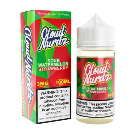 Cloud Nurdz TFN - 100ml Bottle - Sour Watermelon
