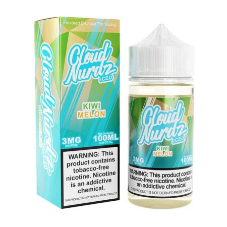 Cloud Nurdz TFN - 100ml Bottle - Kiwi Melon Iced