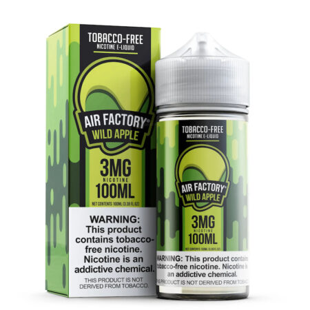Air Factory Synthetic - 100ml Bottle - Wild Apple