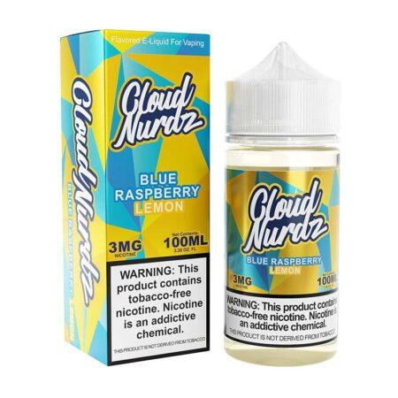 Cloud Nurdz TFN - 100ml Bottle - Blue Raspberry Lemon