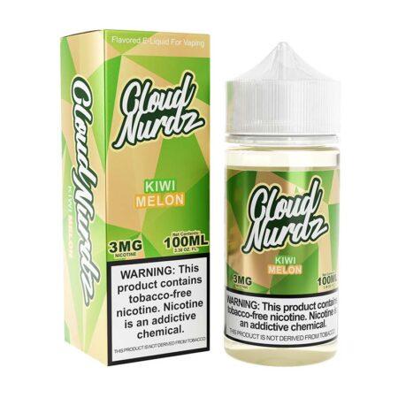 Cloud Nurdz TFN - 100ml Bottle - Kiwi Melon