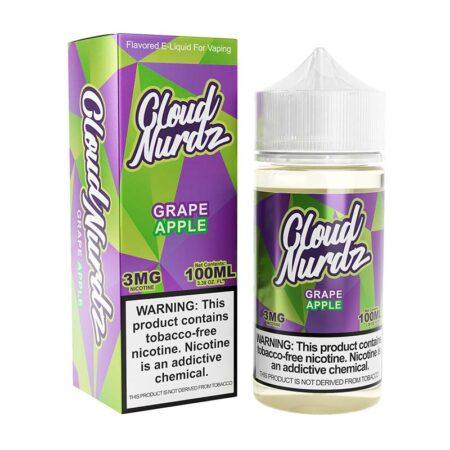Cloud Nurdz TFN - 100ml Bottle - Grape Apple