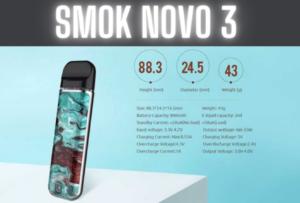 Smok Novo 3 Specs