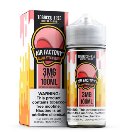Air Factory Synthetic - 100ml Bottle - Aloha Strawberry