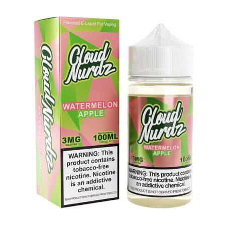Cloud Nurdz TFN - 100ml Bottle - Watermelon Apple