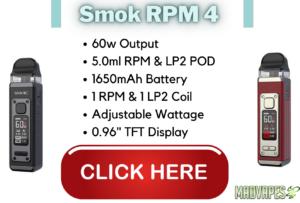 Smok RPM 4 Vape Pod Kit