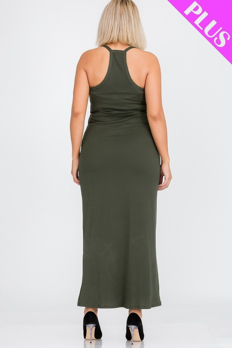 Robe maxi dos nageur grande taille 53308. Vetements Fashions Femme, FRANCE