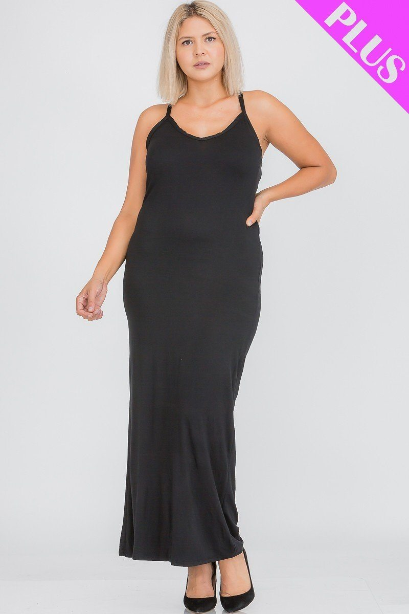 Robe maxi dos nageur grande taille 53308b. Vetements Fashions Femme, FRANCE