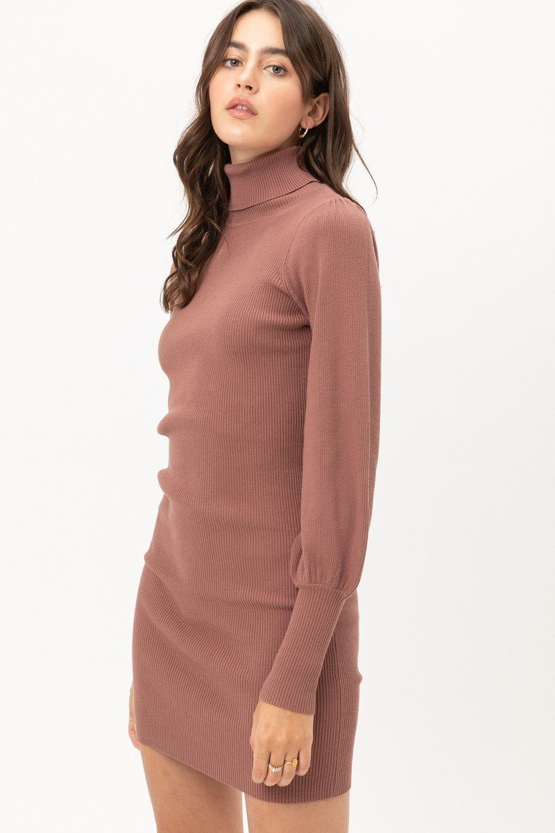 Robe pull col roulé 52925. Vetements Fashions Femme, FRANCE