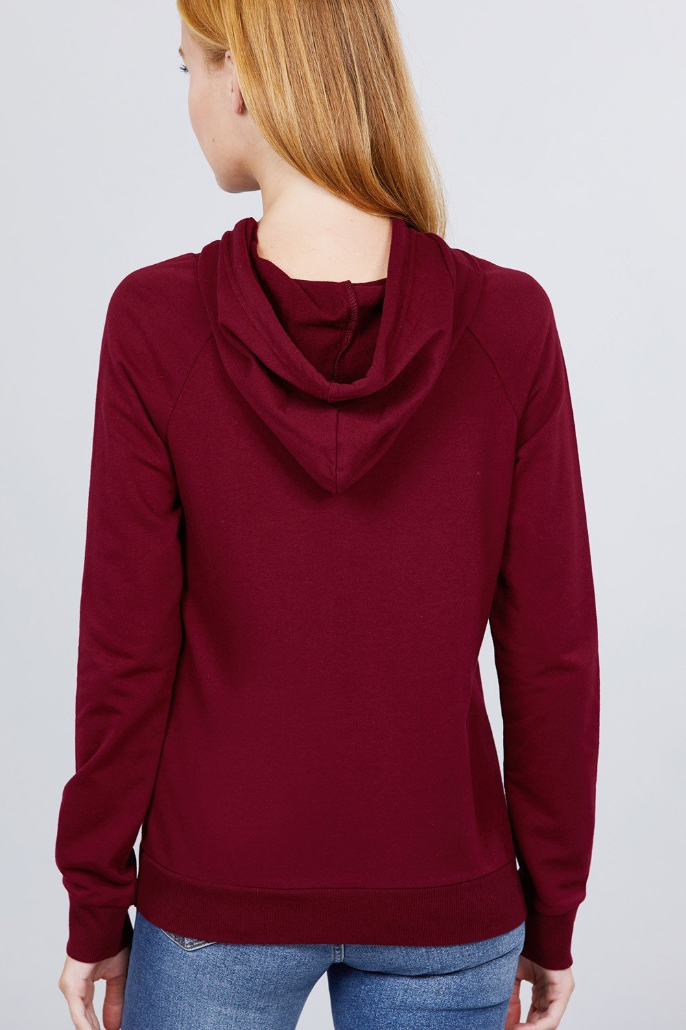 Sweat à capuche french terry pullover 53266aa. Vetements Fashions Femme, FRANCE