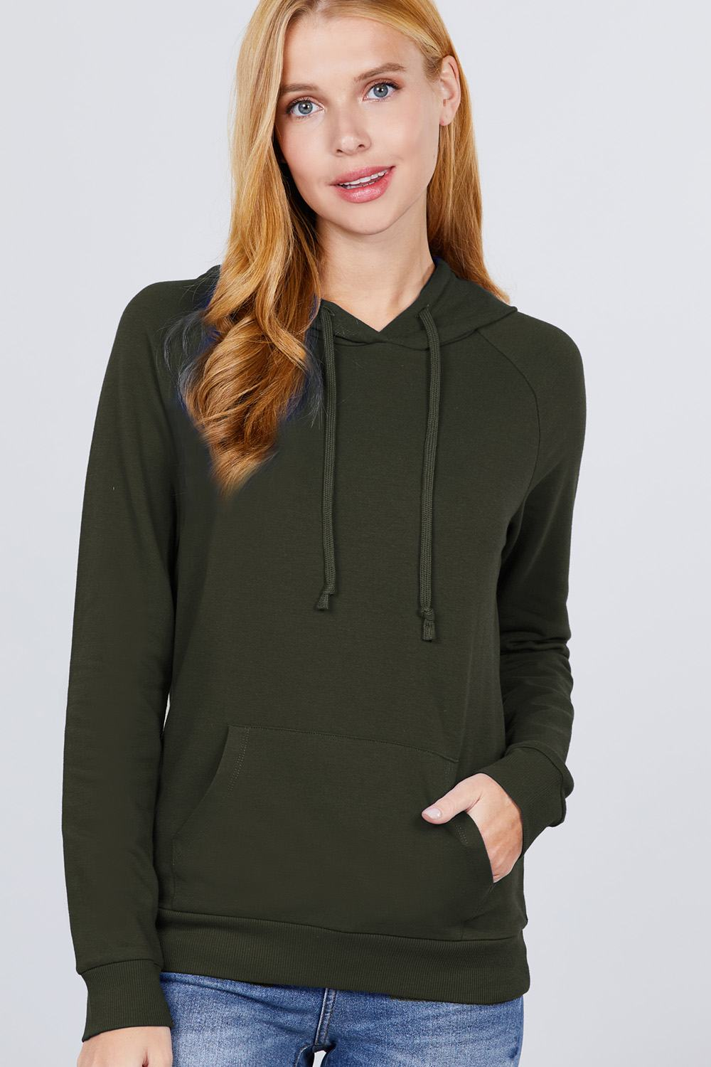 Sweat à capuche french terry pullover 53266b. Vetements Fashions Femme, FRANCE