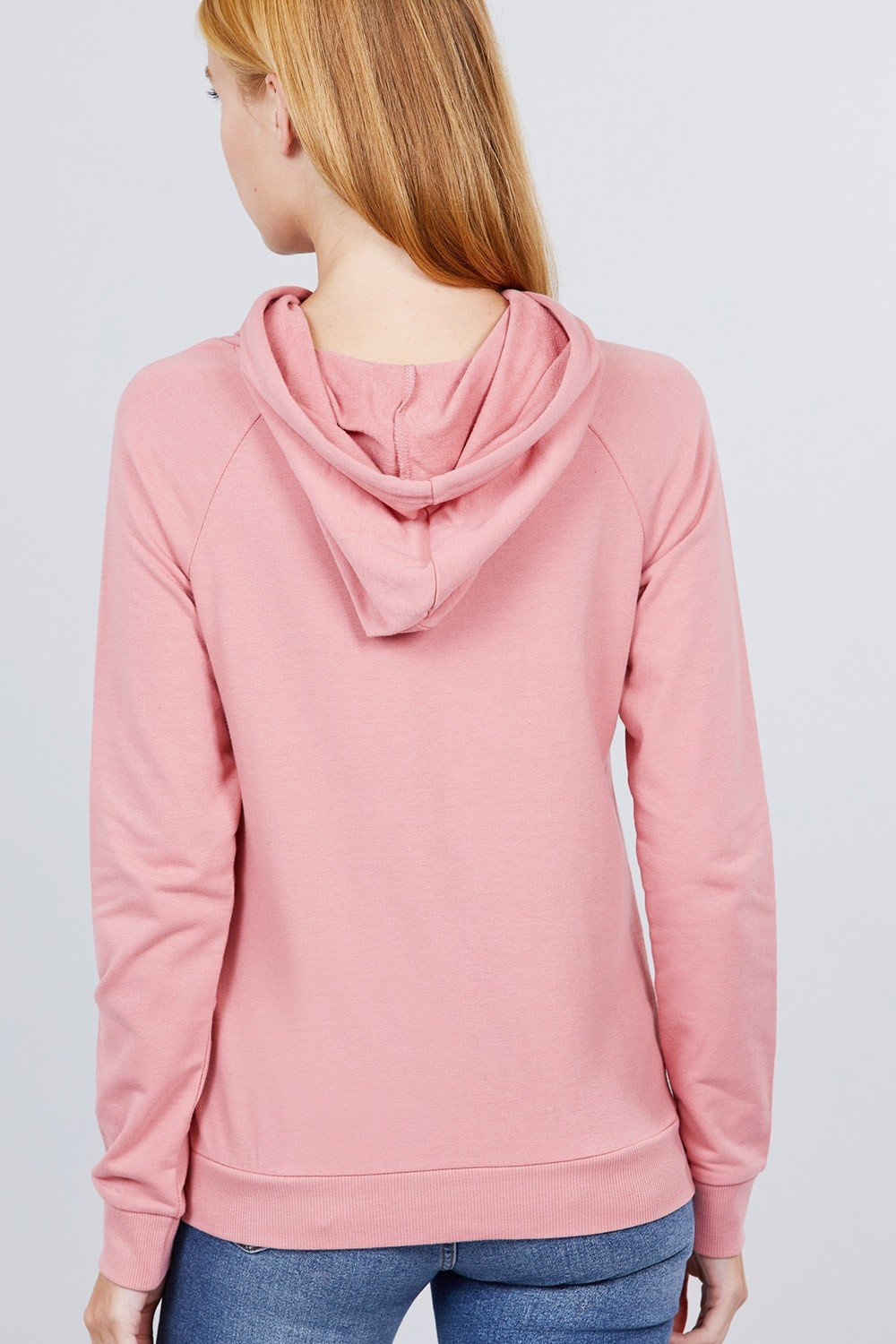 Sweat à capuche french terry pullover 53266c. Vetements Fashions Femme, FRANCE