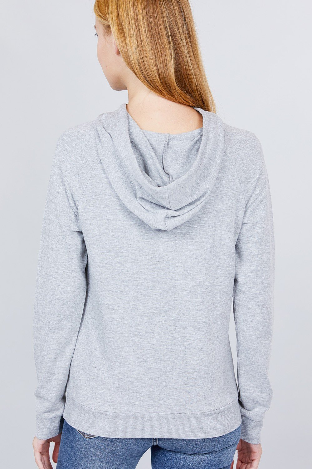 Sweat à capuche french terry pullover 53266d. Vetements Fashions Femme, FRANCE