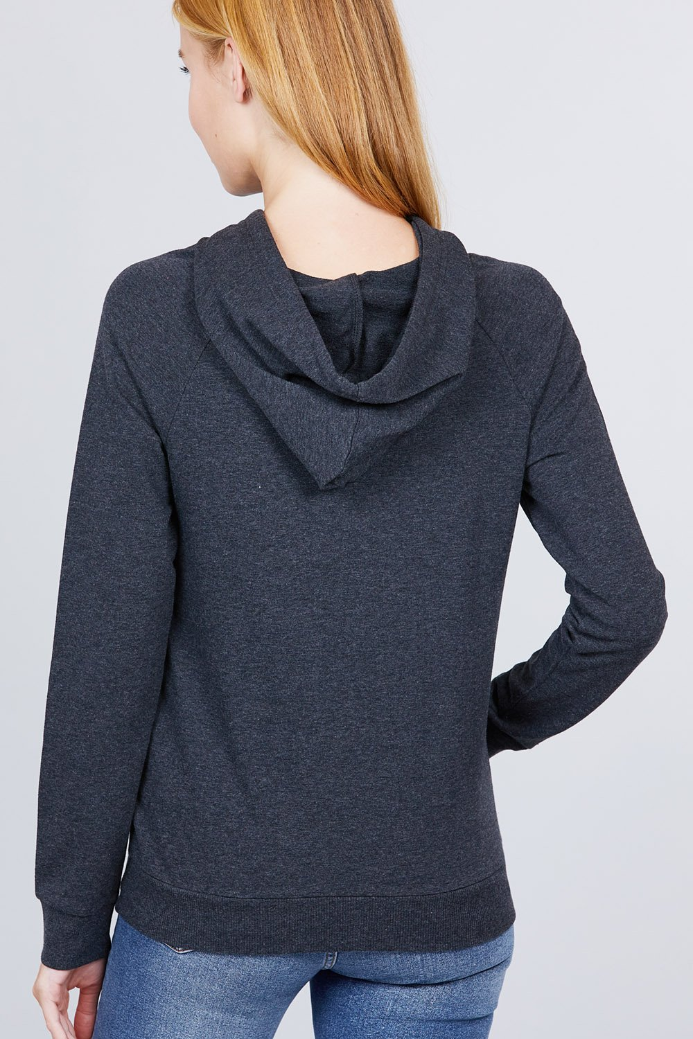 Sweat à capuche french terry pullover 53266o. Vetements Fashions Femme, FRANCE