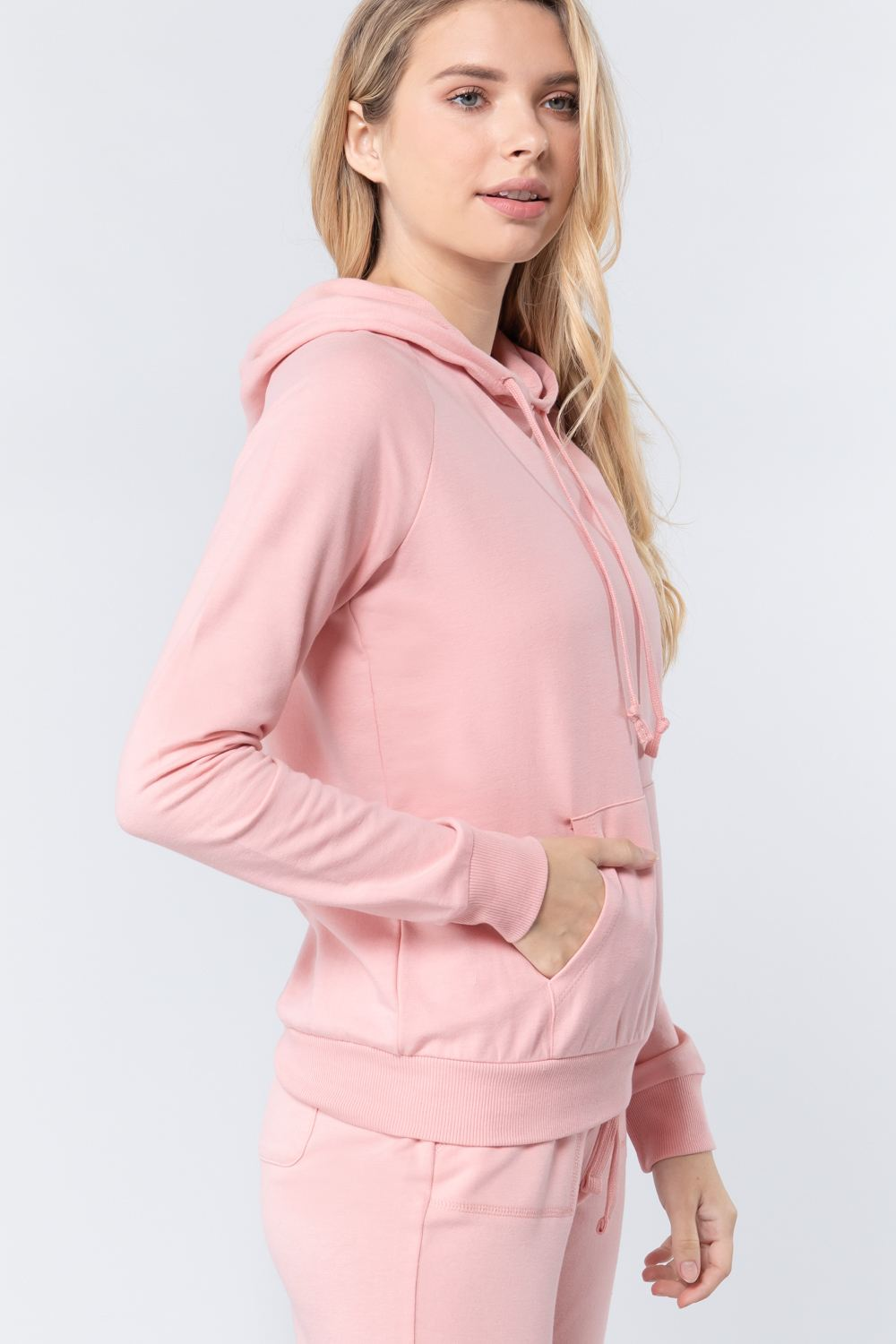 Sweat à capuche french terry pullover 53266q. Vetements Fashions Femme, FRANCE