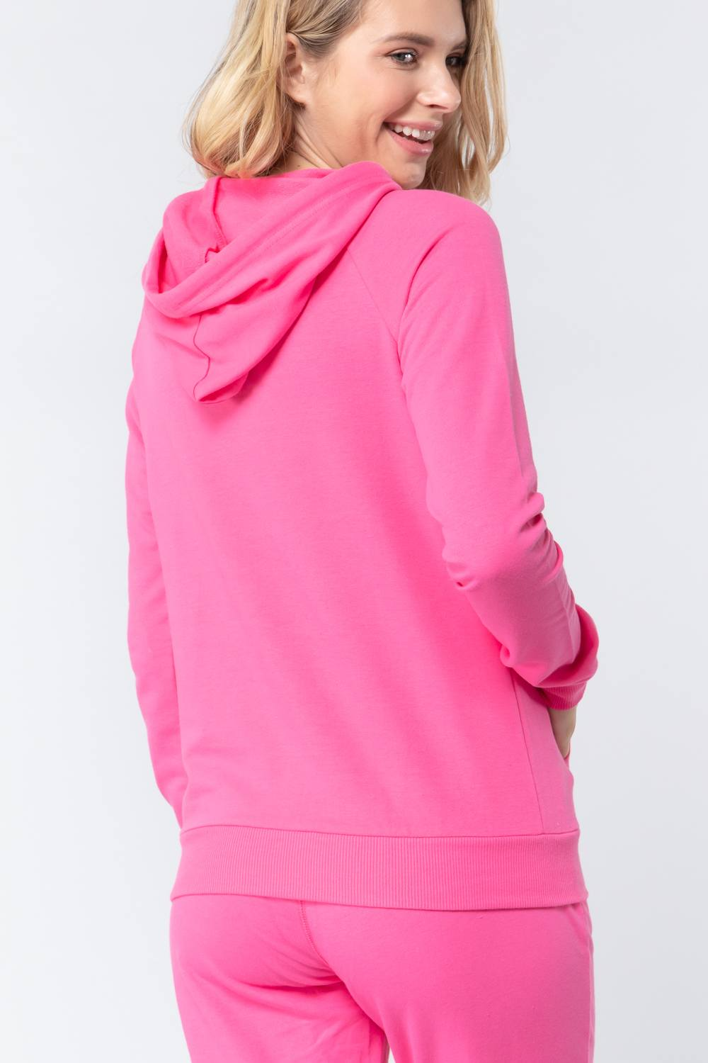 Sweat à capuche french terry pullover 53266t. Vetements Fashions Femme, FRANCE