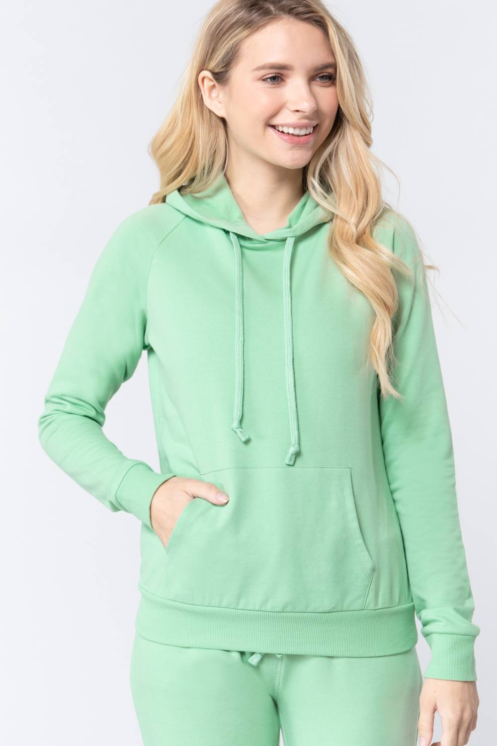 Sweat à capuche french terry pullover 53266u. Vetements Fashions Femme, FRANCE