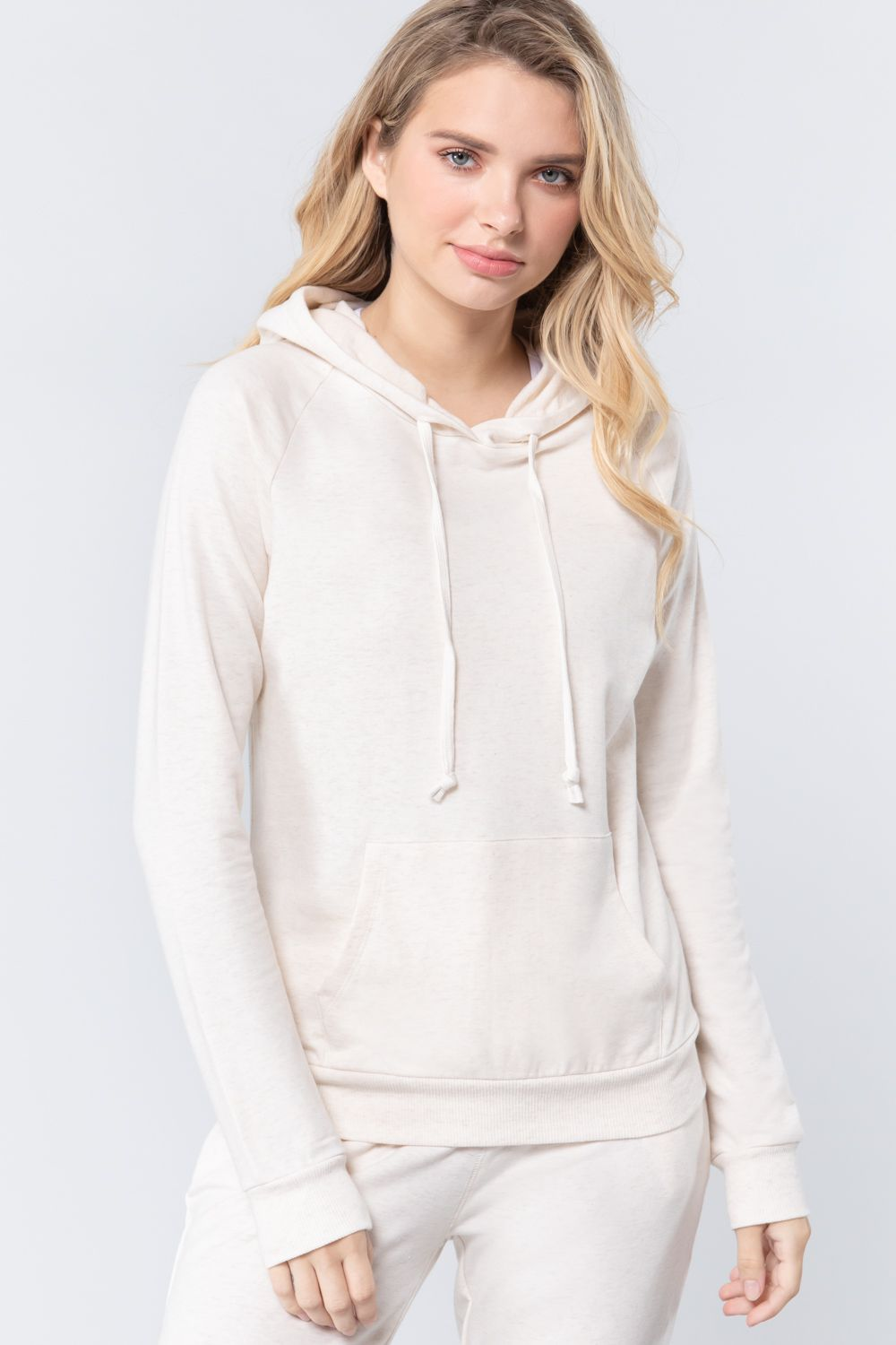 Sweat à capuche french terry pullover 53266v. Vetements Fashions Femme, FRANCE