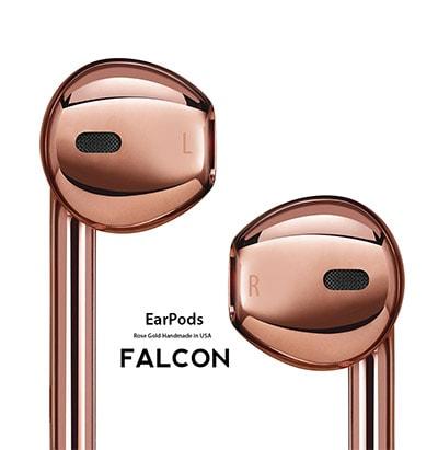 Falcon earpods rose gold