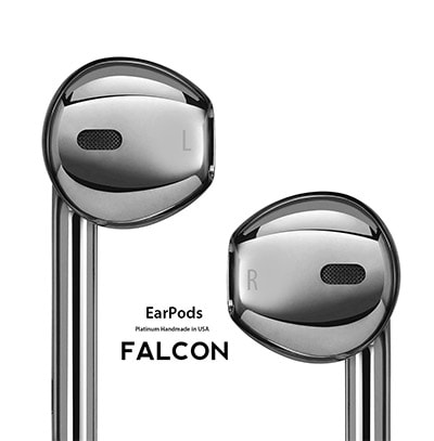 Falcon earpods platinum