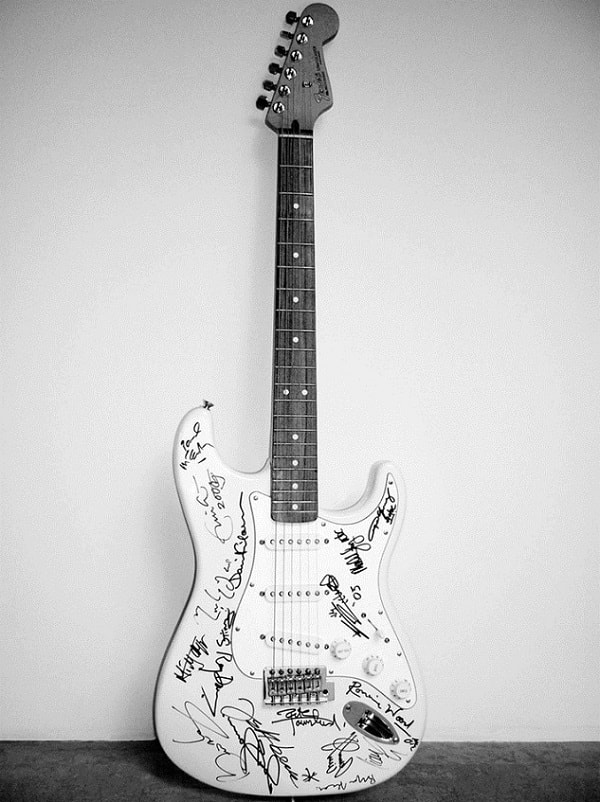 Fender Stratocaster Guitar, Reach Out To Asia