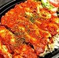 Healthy Chicken plate (tandoori sauce)
