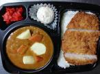 Handmade pork and curry