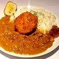 Menchi-katsu Curry