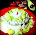 Cheese & avocado Keema