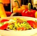 Cobb Salad with Shrimp and Avocado